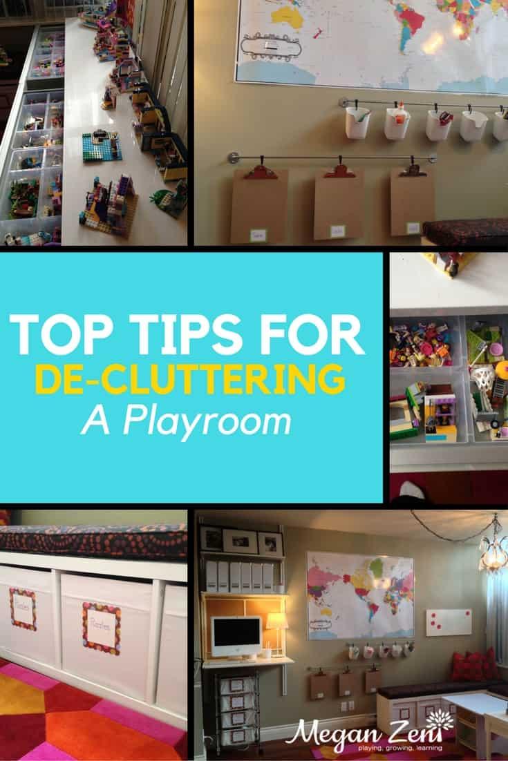 Top Tips to De-clutter a Playroom