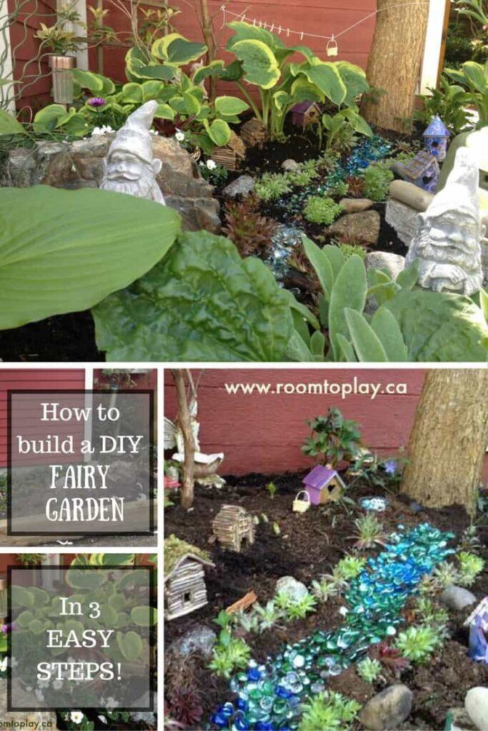 Fairy Garden Ideas - 3 Steps