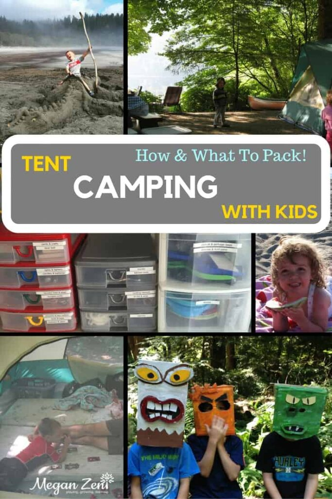 Camping with kids