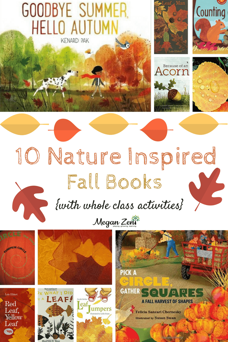 10 nature inspired fall books to read aloud with whole class activities. Black Bedroom Furniture Sets. Home Design Ideas