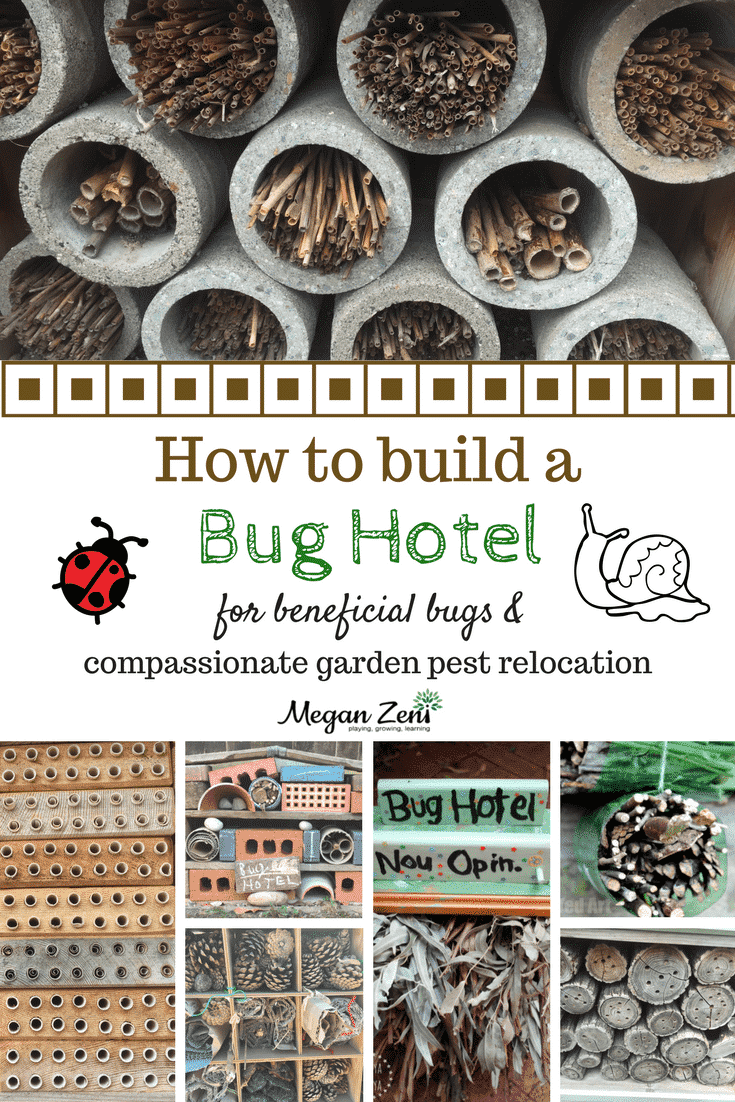 Wooden Insect Hotel Nature Outdoor Bug House Home Childrens Activity Garden