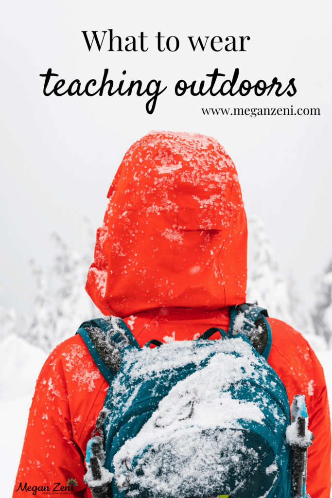 what to wear teaching outside